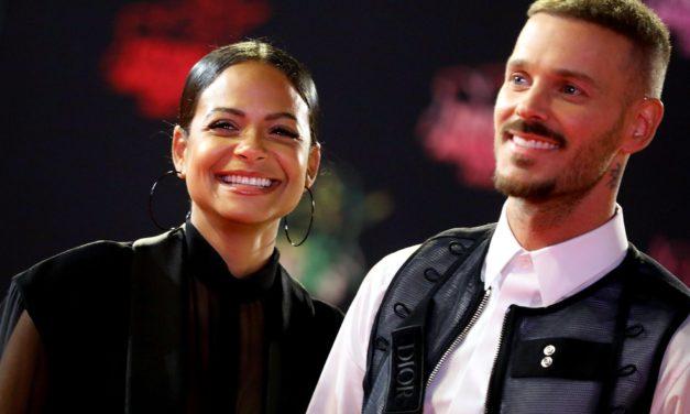 M. Pokora et Christina Milian venus soutenir Hervé en concert à l'Olympia