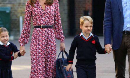 CELEBRITE : L'école du Prince Georges et de sa soeur Charlotte touché par le Coronavirus