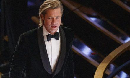Brad Pitt retrouve Kim Kardashian à la fête post-Oscars