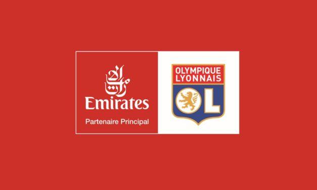 L'Emitates Sponsor Principal de L'OL à partir de la saison 2020-2021