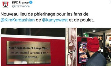 Le nouveau lieu de pélérinage des fans de Kim Kardashian et West