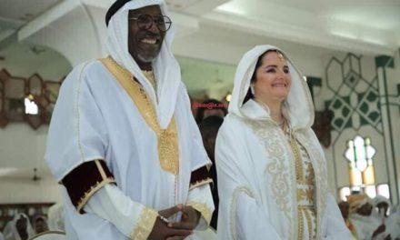 Alpha Blondy et sa compagne Aelyssa Darragi ont célébré leur mariage religieux Ce jeudi 20 février 2020