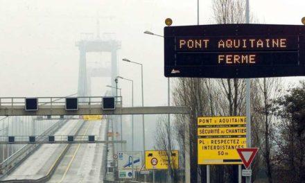 Le pont d'Aquitaine fermé 2 nuits cette semaine