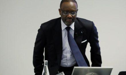 Le Président Général du Crédit suisse Mr  Tidjane Thiam demissionne