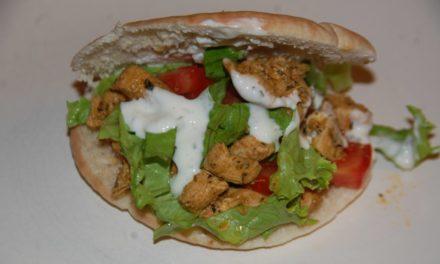 CUISINE : Kebab au poulet fait Maison