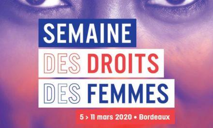 Semaine des droits de la Femme à Bordeaux du 05 au 11 Mars