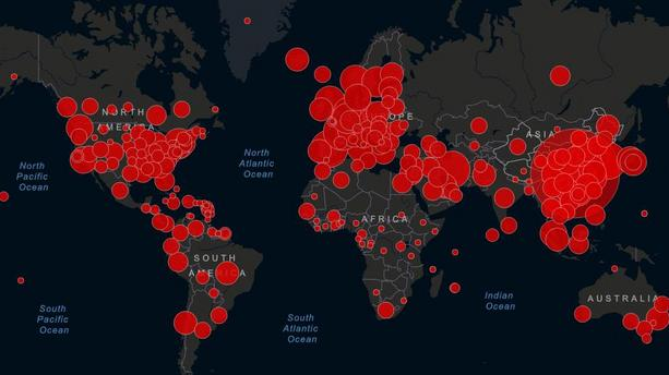 Impact du Coronavirus dans le monde