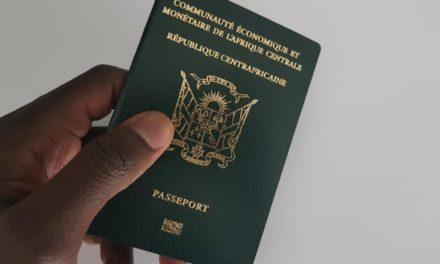 Un soupçon de faux passeport diplomatique en Centrafrique
