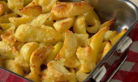 Pommes de terre au fromage au four