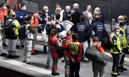 Coronavirus : TGV médicalisé pour evacuer les patients du Grand Est