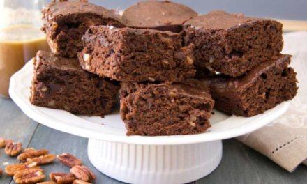 Brownie aux noix de pécan caramélisées de Cyril Lignac