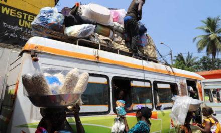En Côte d'Ivoire, la mise à l'isolement d'Abidjan provoque un retour dans les campagnes