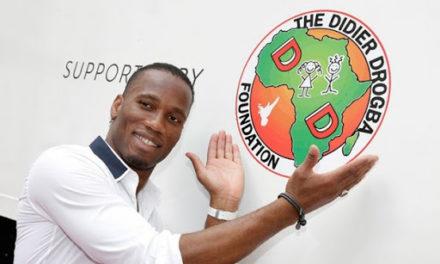 Coronavirus: Le Don de la Fondation de Didier Drogba à la population de la Côte d'Ivoire