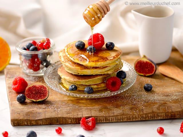 La recette des pancakes moelleux de Cyril Lignac