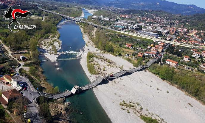 En Italie un viaduc s'est effondré à nouveau