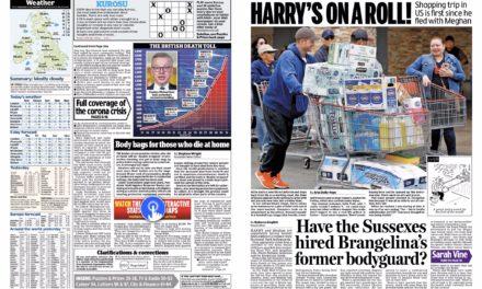 La photo qui stupéfait – Le Prince Harry poussant un caddie plein de supermarché