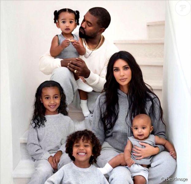 Les enfants de Kim et West face au divorce de leurs parents