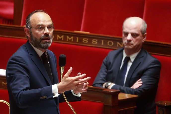 Les Annonces d'Edourd Philippe pour le déconfinement au Sénat