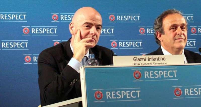 Infantino devrait demisionner selon Platini