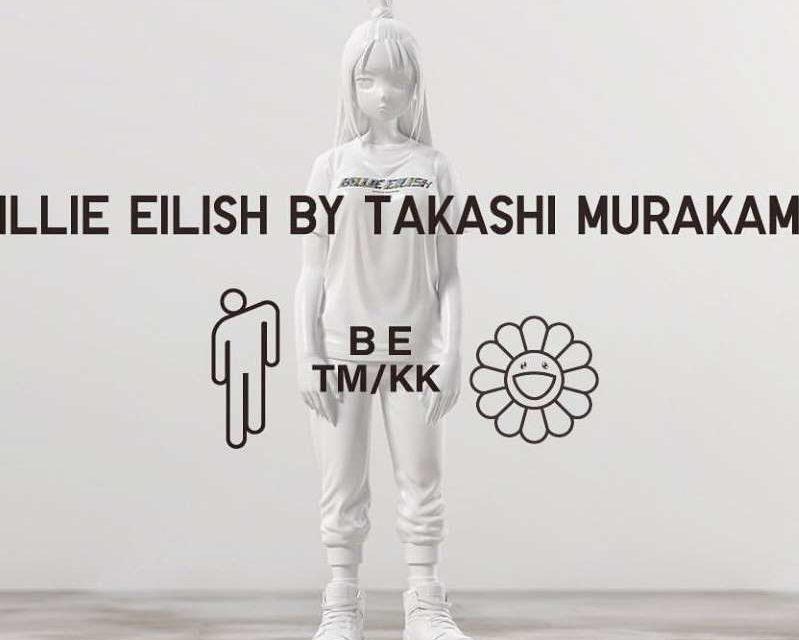 Uniqlo réunit Billie Eillish et Takashi Murakami pour une collection de t-shirt