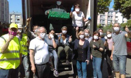 Confinement dans les Yvelines : L'association solidaire a doublé son activité  d'aide alimentaire
