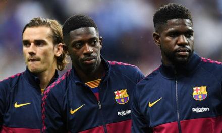 Umtiti et Dembélé poussés vers la sortie du FC Barcelone