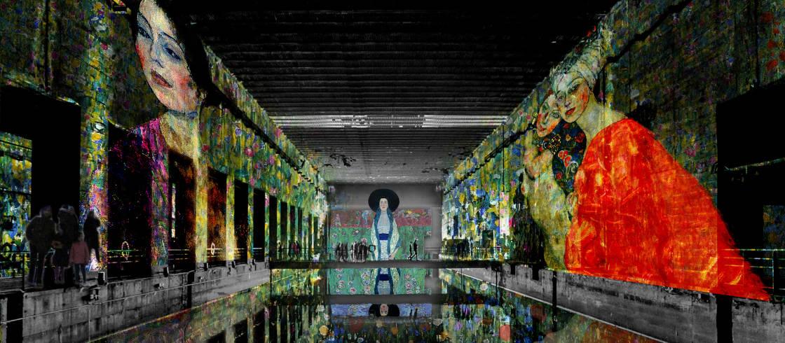 Ouverture à Bordeaux des Bassins de Lumières le 10 Juin