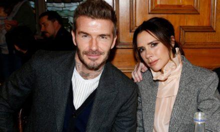 Le Message de Victoria Beckham à son Mari pour son anniversaire