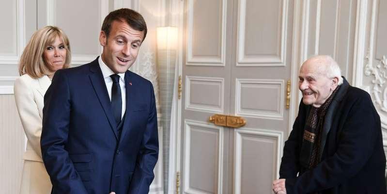 Le plus vieux médecin de France reçu par Emmanuel Macron