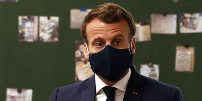 Emmanuel Macron affaibli par le Covid-19
