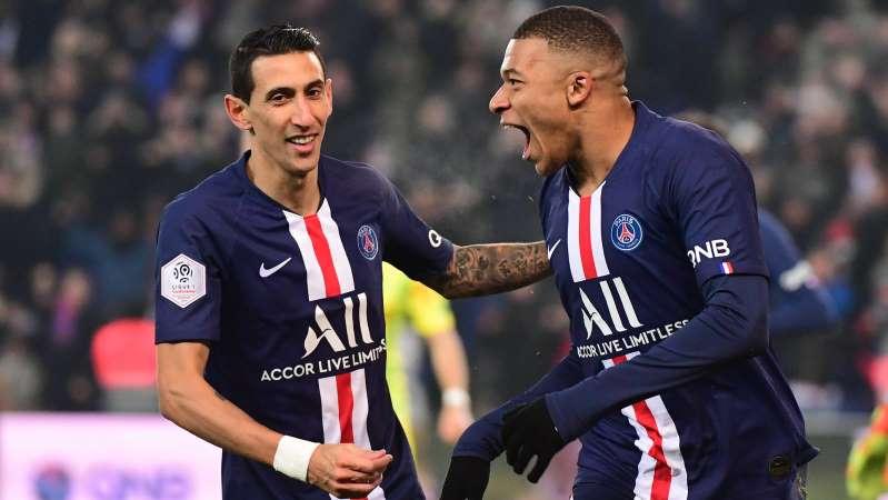 Ligue 1: Officiellement Mbappé meilleur buteur, Di Maria meilleur passeur
