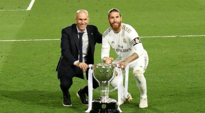 Zidane évasif sur son avenir au Real