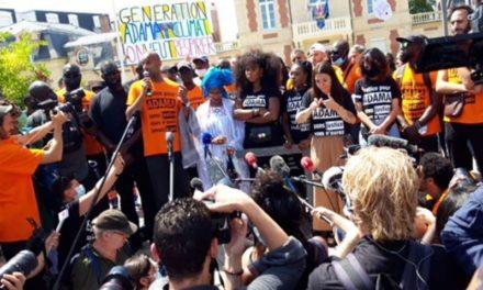 Marche pour Adama Traoré à Beaumont-sur-Oise