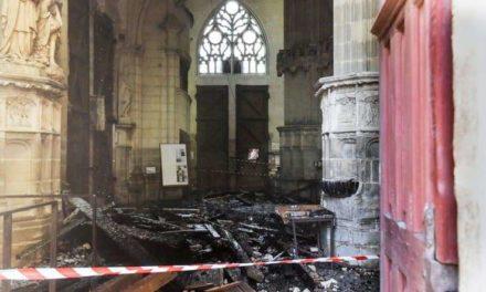 Incendie à la Cathédrale Gothique de Nantes – Pas de trace d'effraction constaté