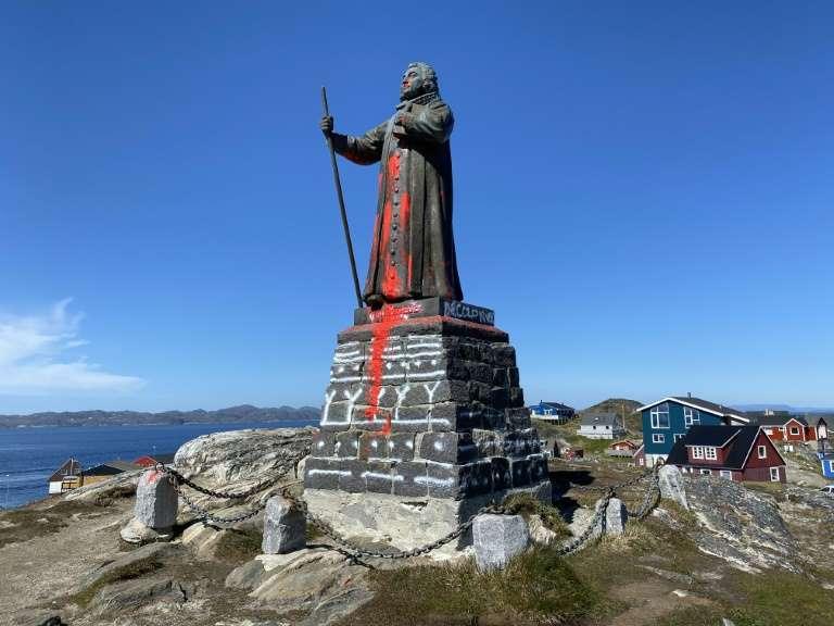 Groenland: vote pour garder la statue d'un colon