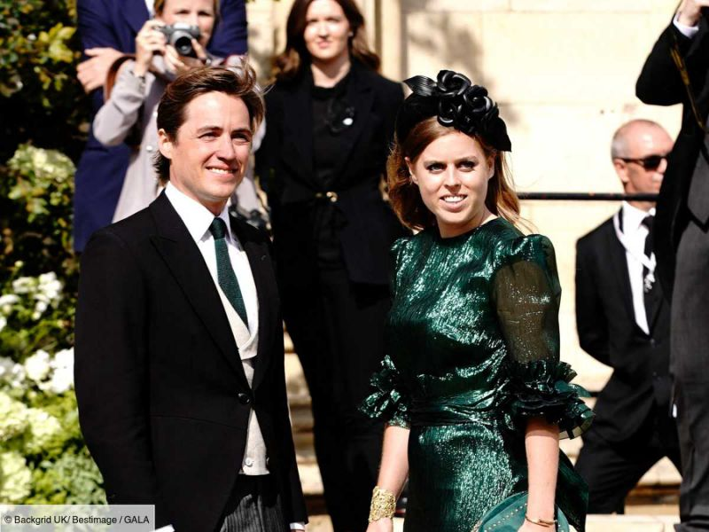 Mariage secret de la Princesse Beatrice d'York