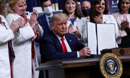 Trump baisse le coût des médicaments