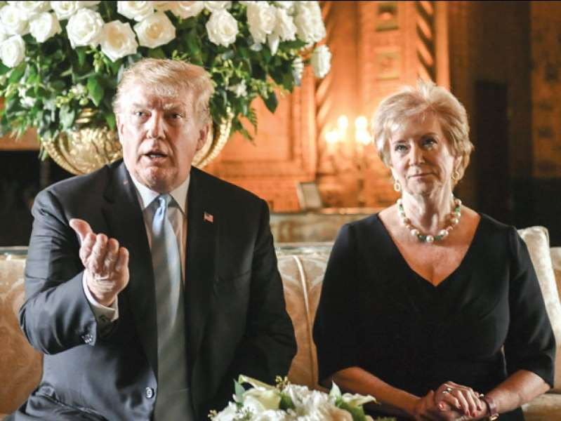 Trump et ses amis en or