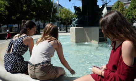 Nouvelle vague de chaleur caniculaire en France