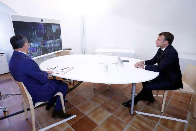 Extrait de l'interview de Macron par Paris Match : Confinement , Situation Européenne…