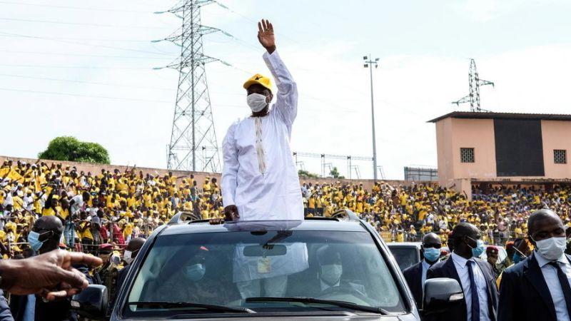 Présidentielle en Guinée : Alpha Condé réélu