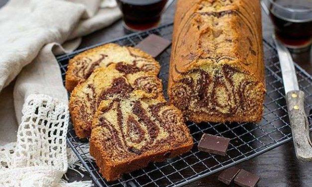 Le Gâteau Marbré par Cyril Lignac