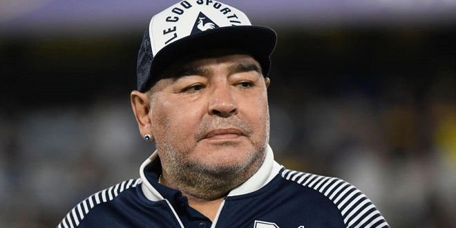La légende du foot DIEGO MARADONA  est décédé