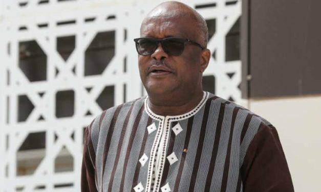 Présidentielle au Burkina : Kaboré réélu