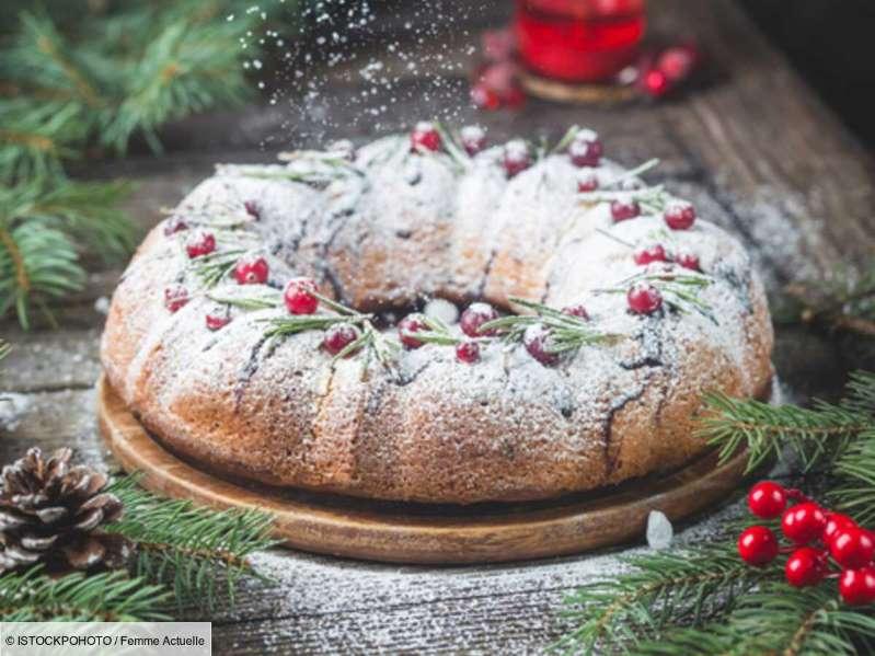 Gâteau au yaourt de Noël