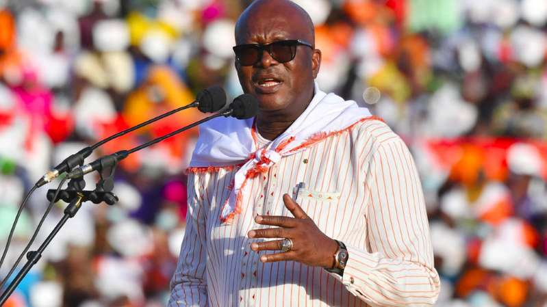 Investiture du Président du Burkina Faso