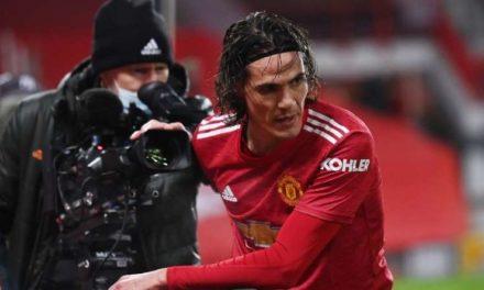 A Manchester United, Edinson Cavani comparé à Zlatan