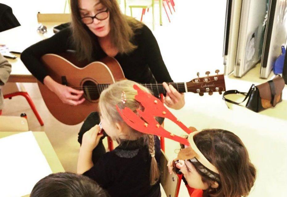 Giulia, la Fille de Sarkozy dans les pas de sa mère Carla Bruni Sarkozy
