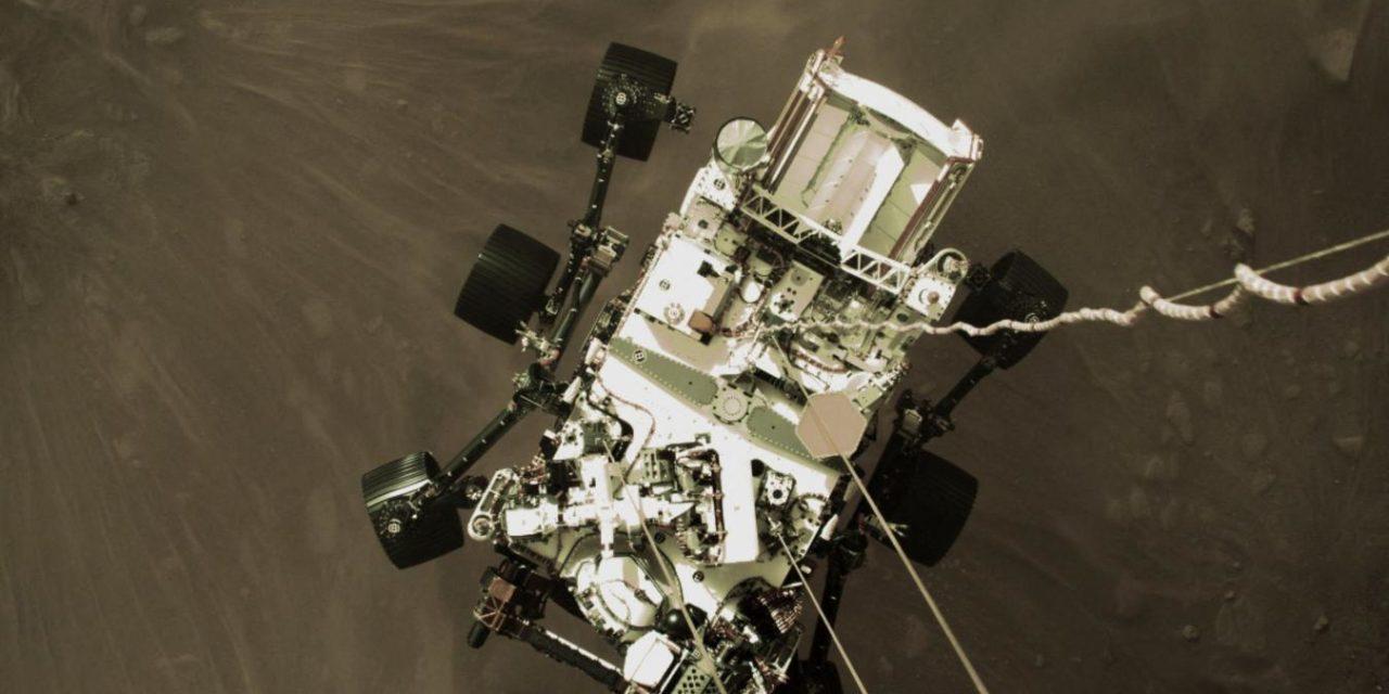La Nasa publie une photo panoramique de Mars