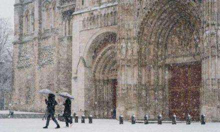 L'Ouest et L'île de France sous la neige